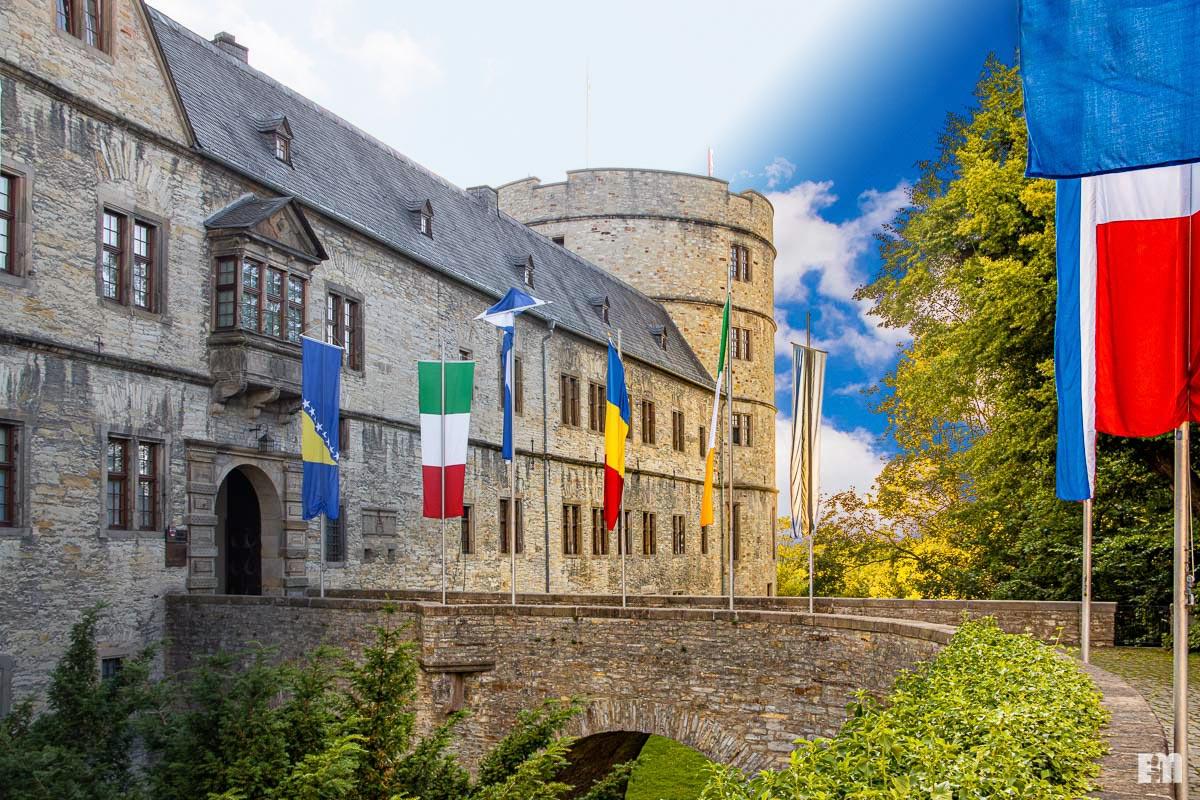Vorher/Nachher: Wewelsburg